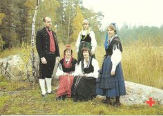 Traditional costumes Finland 2 by tucano3, via Flickr