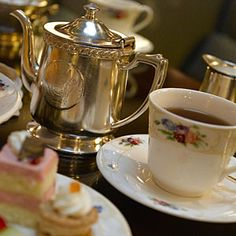 Afternoon Tea at Brown Palace Hotel - Denver, CO