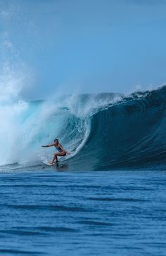 Lucy Campbell is an adventurous British surfer. Read her story on the SurfGirl website entitled A Long Way from Kuta.