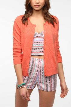 Pins And Needles Button-Down Cardigan  #UrbanOutfitters