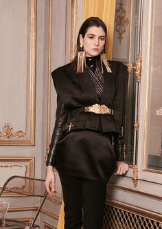 Balmain Pre-Fall 2013 - Review - Fashion Week - Runway, Fashion Shows and Collections - Vogue - Vogue