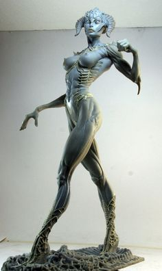 demonmujer 14 by ~rieraescultura-art