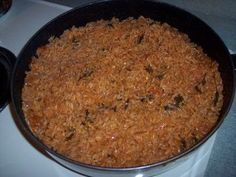 My husband (who is originally from Mexico) taught me how to make spanish rice; here's his spanish rice recipe.