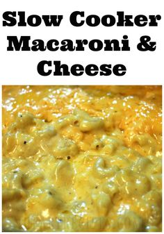 how to make the best homemade creamy cheesy macaroni and cheese in the Crock-Pot! So many of you loved my soul food and southern baked macaroni and cheese recipes! As I mentioned many times, I have…