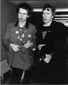 John Lydon & Sid Vicious