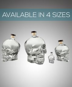 Crystal Head VodkaMore Pins Like This At FOSTERGINGER @ Pinterest