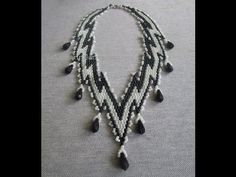 How to Make a Necklace with Poyete Technique Seed Bead Tutorials, Jewelry Making Tutorials, Beading Tutorials, Beading Patterns, Seed Bead Jewelry, Beaded Jewelry, Handmade Jewelry, Beaded Bracelets, Beaded Necklace Patterns