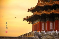 One more Forbidden City fact: the Palace of Heavenly Peace (Qianqinggong) in the inner court is where the emperor rest & sleep. #Beijing #China
