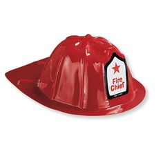 Kindergeburtstag Mottoparty Feuerwehr: Feuerwehrhelm, Material: Kunststoff