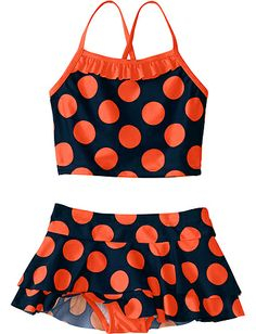 Tankini Swimsuit from Hanna Andersson - love this for Maylee.... but does she need one more bathing suite!?!