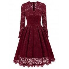 SHARE & Get it FREE | Party Vintage A Line Lace DressFor Fashion Lovers only:80,000+ Items·FREE SHIPPING Join Dresslily: Get YOUR $50 NOW!
