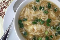 Chinese egg drop soup - Google Search