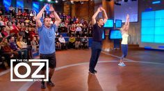 Chris and Heidi Powell teach a 9 minute workout video on the Dr. Oz show! Everyone has 9 minutes in their day to devote to this workout and get on the path to health!