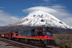Tambillo and Alausi Day Trip by Train from Quito in Ecuador South America Equador Quito, Trains, Quito Ecuador, Galapagos Islands, South America Travel, Train Travel, Day Trip, Beautiful Places, Beautiful Scenery