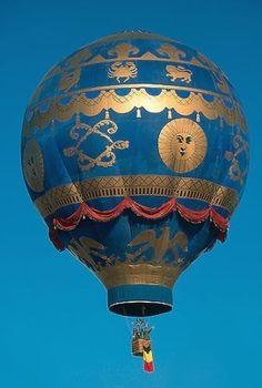 hot air balloon by jannyshere