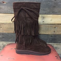 Brown Fringe Boots   #onlineshopping #football #cross #fourthofjuly #boutiques #boutiquesoftexas #jeans #sassyandsouthern #freeshipping #musthave