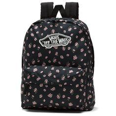 Realm Backpack Vans Backpack, Jansport Backpack, Black Backpack, Backpack Bags, Fashion Backpack, Cute Backpacks For School, Vans Bags, School Survival Kits, Vans Off The Wall