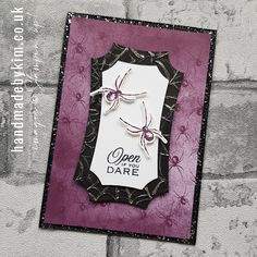 Halloween Cards, Halloween Themes, 3d Projects, Cardmaking, Stampin Up, October, Scrapbooking, Paper Crafts, Magic