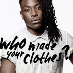 Show your support for better connections and transparency across the fashion supply chain. Join Fashion Revolution. #insideout www.fashionrevolution.org