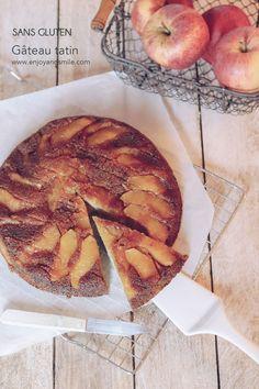 Le gâteau d'automne parfait, bien moelleux et gourmand avec l'association caramel et pommes (sans gluten)