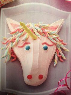 Unicorn cake -via family fun