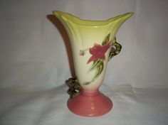 Vintage Hull Pottery Woodland Green and Pink by MysticSpiritShoppe,