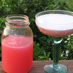 """Rhubarb MargaritaI """"So good! It has a light, summer taste to it. The fresher the rhubarb the better, but you can use frozen rhubarb also."""""""