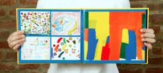 A cool way to preserve your kids art work.