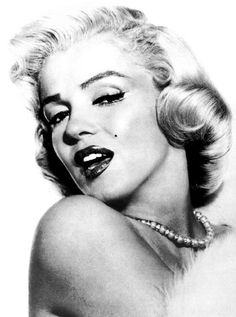 Marilyn Monroe Black and White Water Nail by TheDelicateLily, $1.99
