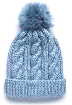 How to Knit a Gilmore Girls Hat Pattern - Her Crochet Beanie Knitting Patterns Free, Knit Beanie Pattern, Baby Hats Knitting, Knitted Hats, Crochet Patterns, Crochet Hats, Knit Leg Warmers, Cable Knit Hat, Bolero