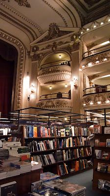 library in Buenos Aires Latin America, South America, Libreria El Ateneo, Places To Go, Lens, Bookstores, City, Wanderlust, Pictures