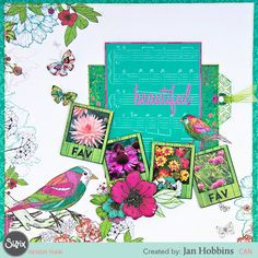 Bring those fav photos of yours to the art of scrapbooking! Embellish by embossing and using the cutest shapes from the Jillibean Soup collection from Sizzix! Scrapbook Designs, Scrapbooking Layouts, Scrapbook Pages, Book Crafts, Paper Crafts, Tutorial Class, Hampton Art, Parchment Craft, Photo Layouts