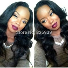 Buylacewigs Com Natural Curly Brazilian Full Lace Black Wig  Inch