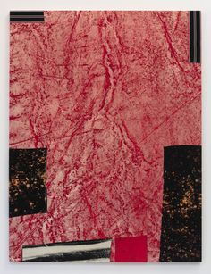 Sterling Ruby | THERMOHALINE, 2016. Acrylic, elastic, treated fabric and cardboard on canvas. 320 × 243,8 × 5,1 cm | 125 15⁄16 × 95 15⁄16 × 2 inches. | Xavier Hufkens Art Is Dead, Sterling Ruby, Textiles, Collage Art, Printmaking, Art Reference, Graphic Design, Sculpture, Photography