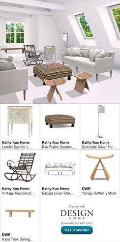 Created with Design Home! Teak, House Design, Dining, Create, Vintage, Home, Food, Ad Home, Vintage Comics