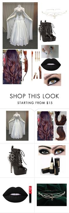 """""""Eva (south park stick of truth)"""" by laughing-jack5 ❤ liked on Polyvore featuring HADES and Lime Crime"""