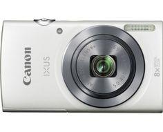 Canon Digitalkamera IXUS 160 20 Mio. Pixel Opt. Zoom: 8 x Weiß