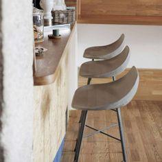 Hauteville barkruk beton - La Boutique Blanche