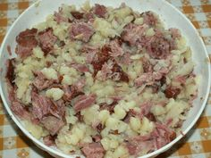 Gnocchi with smoked meat and sauerkraut - Gnocchi with smoked meat and sauerkraut - Healthy Diet Recipes, Polish Recipes, Smoking Meat, Sauerkraut, What To Cook, Gnocchi, Potato Salad, Cabbage, Veggies