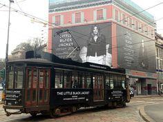 Tosetto per l'evento Little Black Jacket by Chanel http://tosettoallestimenti.com/eventi-fiere/