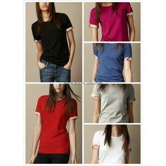 Burberry Women T-Shirt 2014-2015 S-2XL BWS028(6 colors)