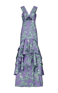 Lila Embellished Dress by Johanna Ortiz for Preorder on Moda Operandi