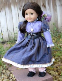 Victorian Steampunk Dress & Accessories for by DollhouseDesigns