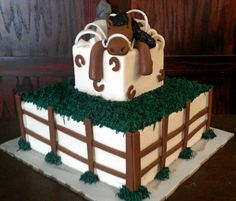 Horse Birthday Cake by Brown Egg Bakery Okc
