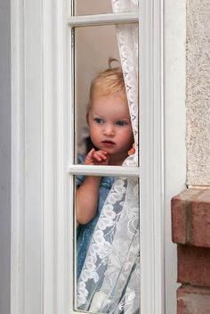 Through The Window Looking Out The Window, Through The Looking Glass, Special Pictures, What Do You See, Through The Window, Windows And Doors, Baby Love, Little Boys, Cute Kids
