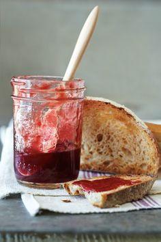 All About Pectin: Honey Plum Cardamom Jelly, Chocolate-Cherry Preserves, Maple-Vanilla Peach Jam