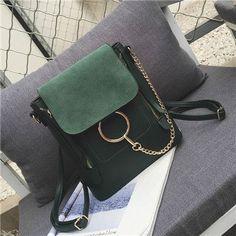 Double Zipper Female Handbag