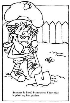 Coloring Book~Strawberry Shortcake's Summer Fun Coloring Book - Bonnie Jones - Picasa Web Albums
