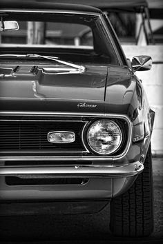 1968 Chevy Camaro SS 350 - by Gordon Dean II