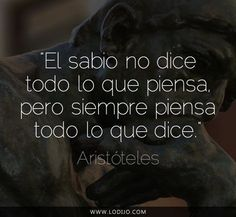 Frases de Aristóteles que te harán más Inteligente. - Taringa!